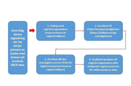 Flödesschema för forskare